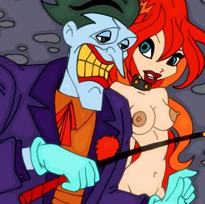 Joker's wild toon sex orgy!