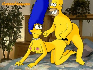 Incredible cartoon porn with the Simpsons!